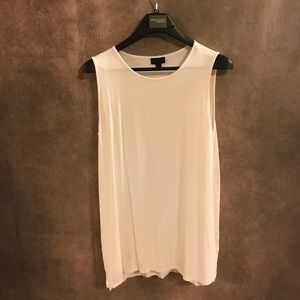 White J Jill Wearever Collection Tank Top
